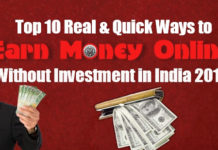 Top 10 Real & Quick Ways to Earn Money Online Without Investment in India