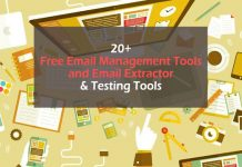 20+ Free Email Management Tools and Email Extractor & Testing Tools