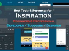 Free Inspirational Resources & tools for beginners and Professionals