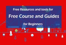 Free Resources and tools for Free Course and Guides for Beginners