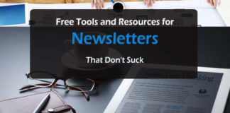 blog for beginners Home Free Resources for Top Newsletters That Dont Suck 324x160