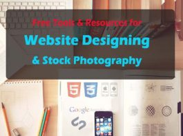 Free Resources for Website Designing & Stock Photography