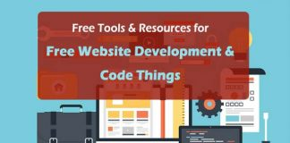 Free Tools and Resources for Free Website Development - Coding