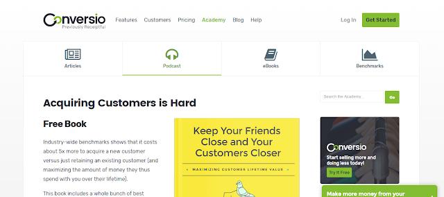 KeepYourFriendsClose - A free e-book about maximizing Customer Lifetime Value