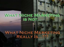 What Niche Marketing Really Is or Is Not.