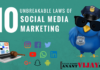 10 Unbreakable Laws of Social Media Marketing!