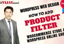 How to add Product Filter in WooCommerce Store/WordPress Online shop (PART-9)