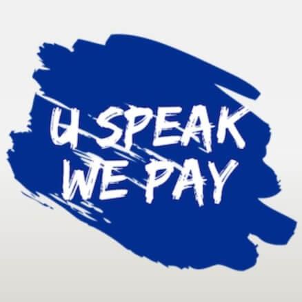 U Speak We Pay Android App