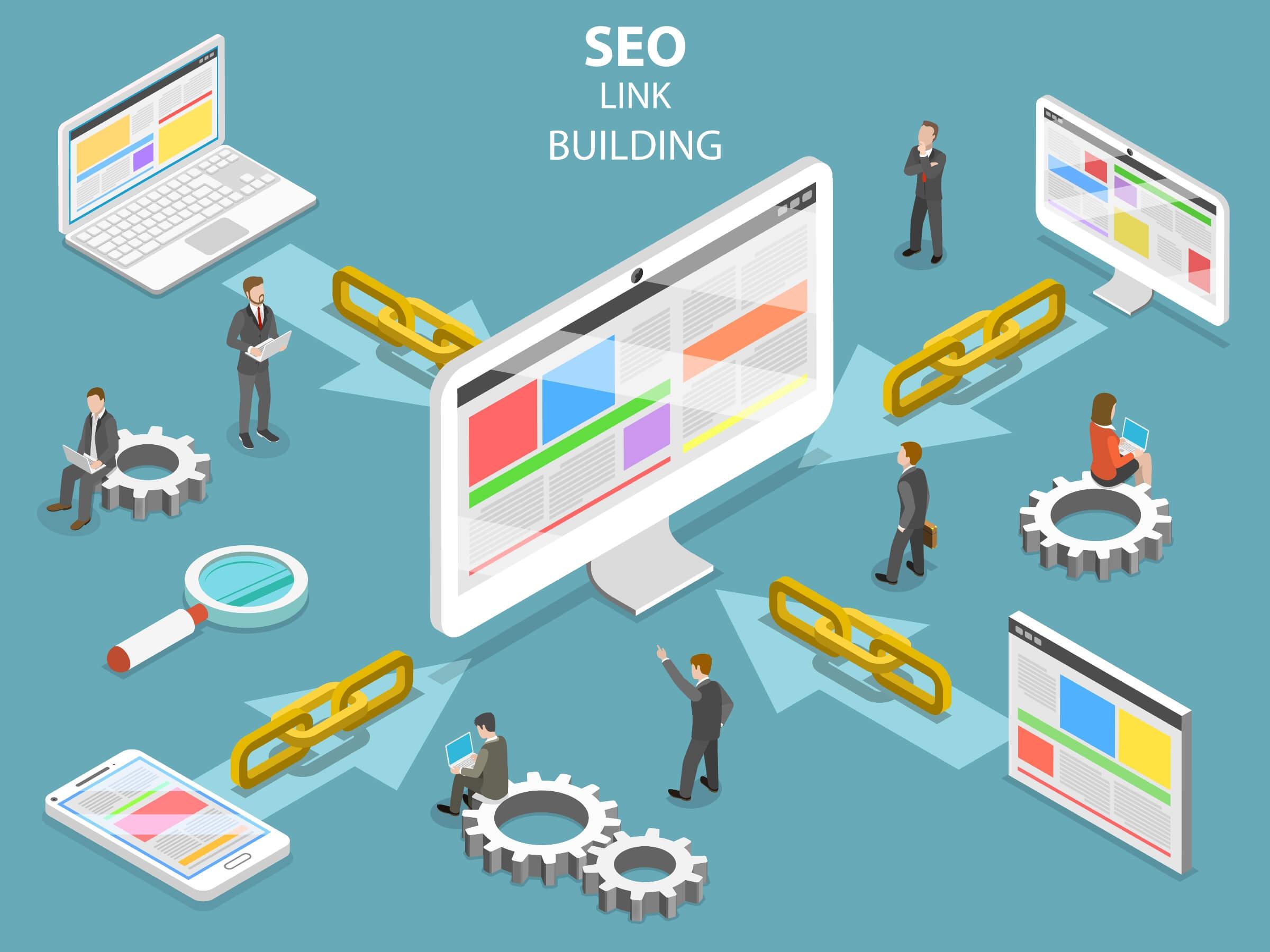 Link Basics – SEO: Link Building in Depth