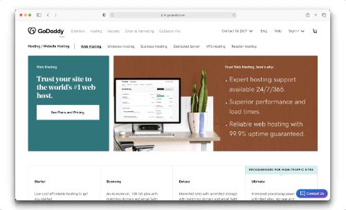GoDaddy - Domain & Hosting Service Provider