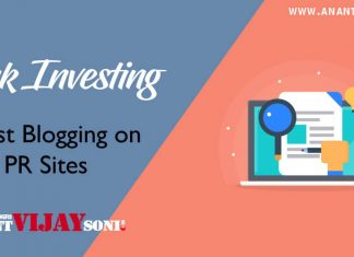 Link Investing – Guest Blogging on Low PR Sites