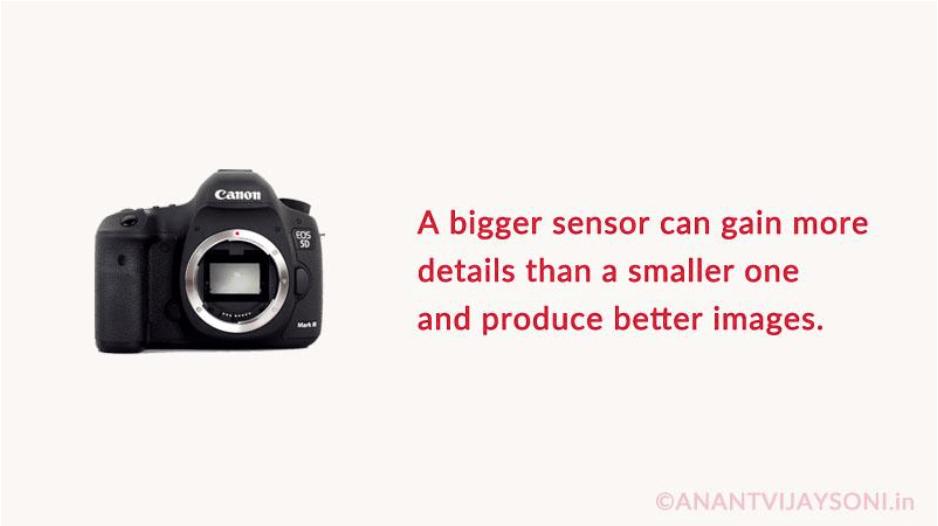 DSLR Camera - Sensor Type
