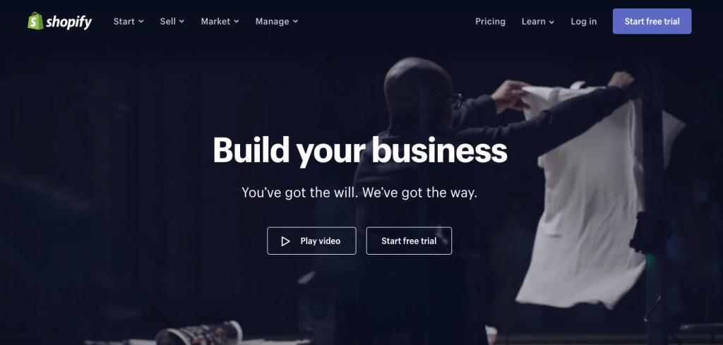 Shopify - Best online ecommerce platform