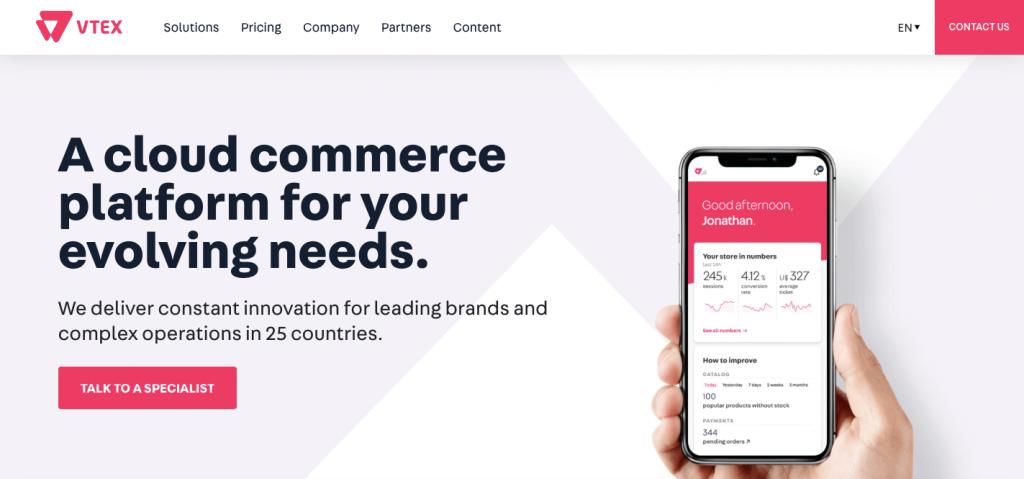 VTEX - Best online ecommerce platform