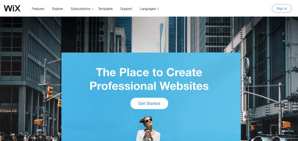 Wix - Best Online Ecommerce Platform