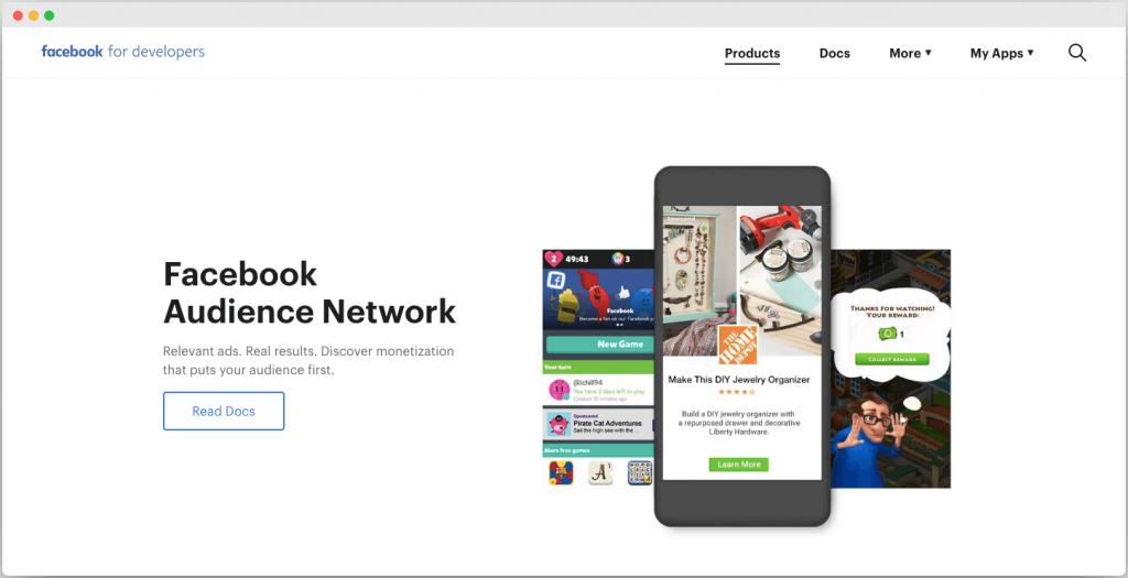 Facebook Audience Network - Best Google adsense alternative