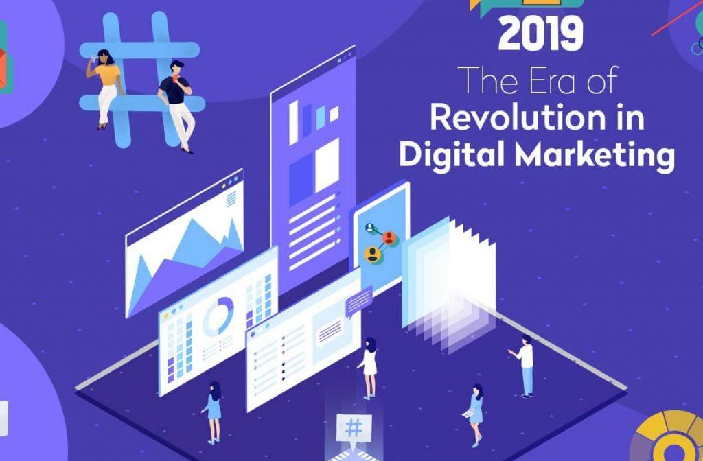 The Era of Revolution of Digital Marketing
