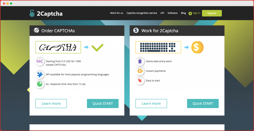 2captcha - Captcha Entry Jobs in India