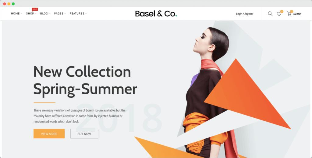 Basel - Fashion Multi-Purpose eCommerce WordPress Theme