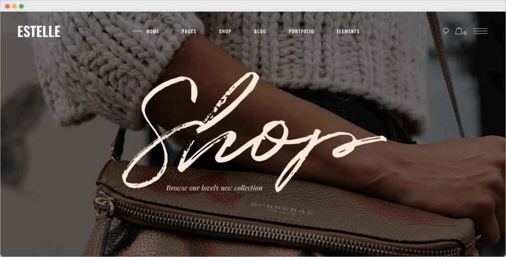 Estelle - Fashion and Modelling Agency WordPress Theme