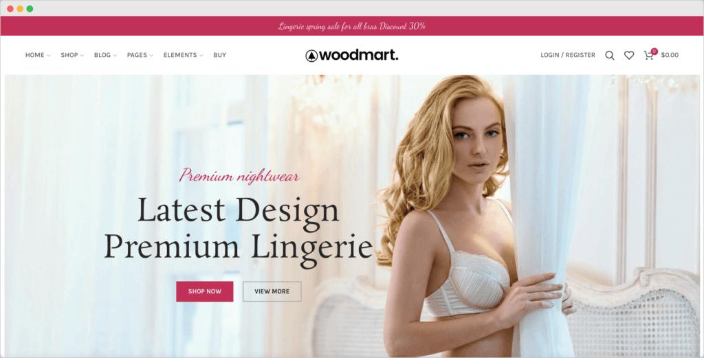 WoodMart – Responsive WooCommerce Fashion WordPress Theme