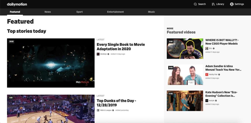 Dailymotion - Best Youtube Alternative