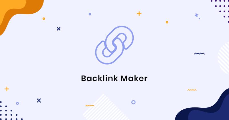 Free Backlink Generator Tools to Get Quality Backlinks