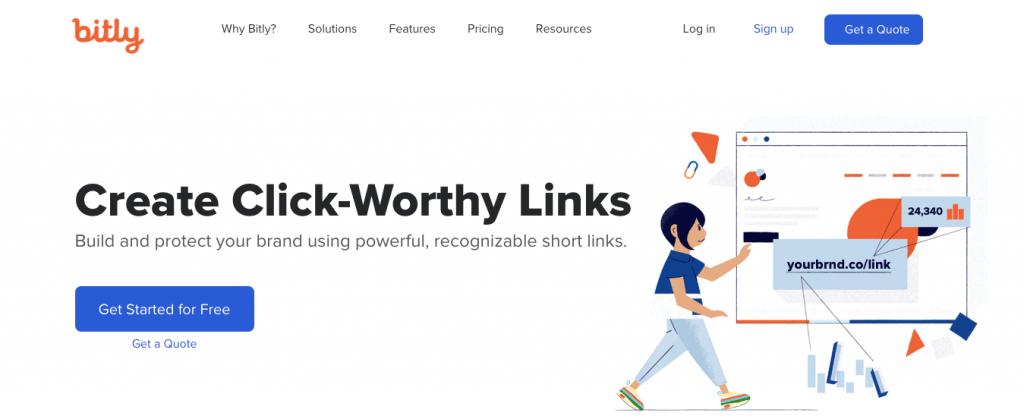 Bit.ly - Best URL Shortener