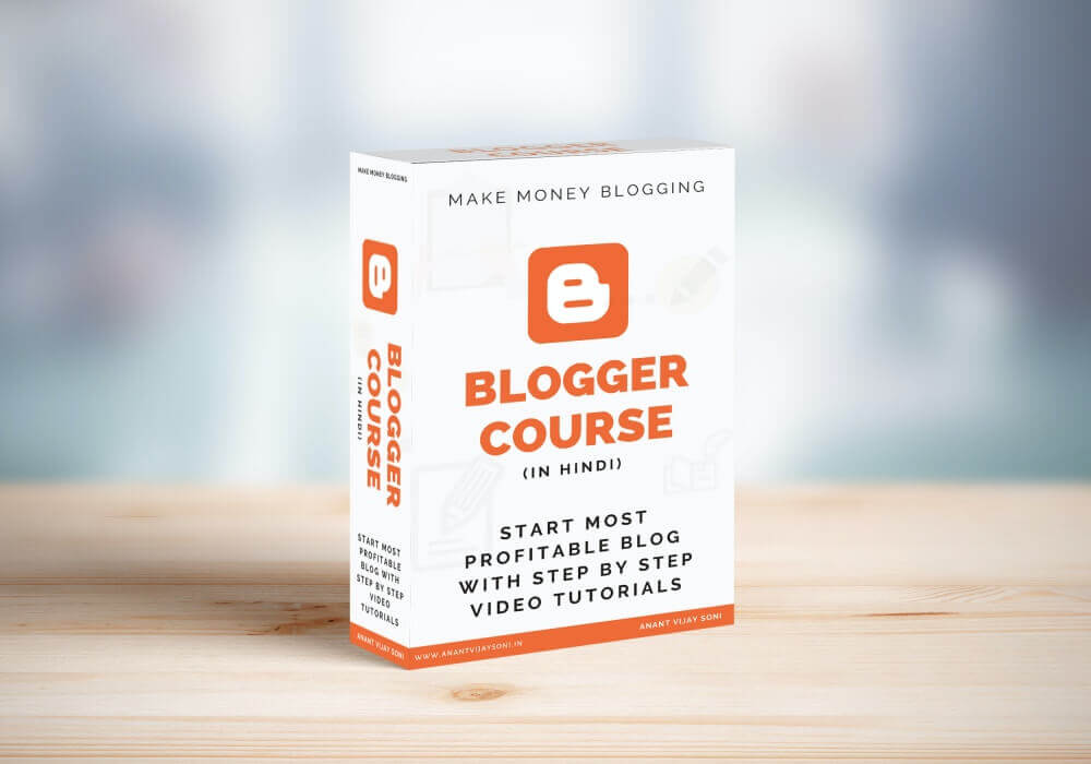 Blogger Course in Hindi