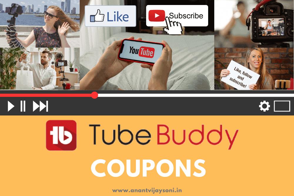 TubeBuddy Coupon and Promo Code