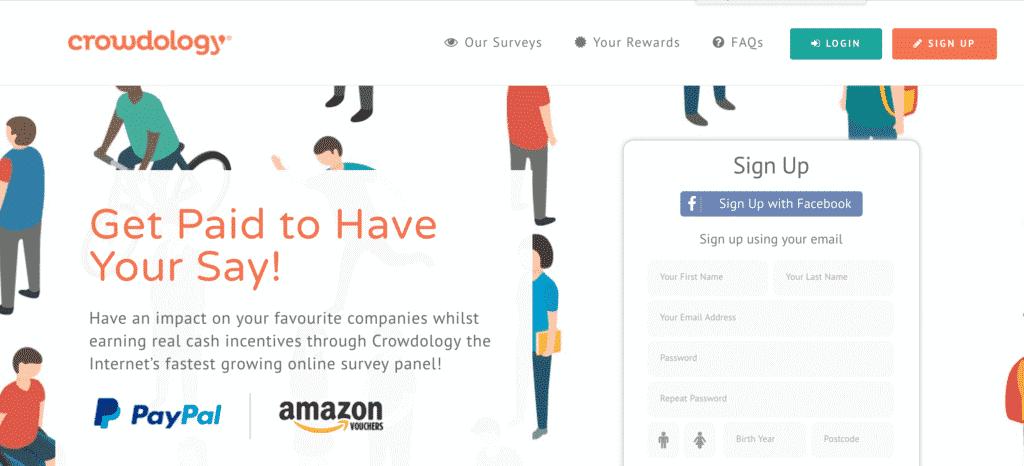 Crowdology - Best Survey Website