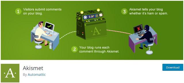 Akismet - Anti Spam wordpress plugin
