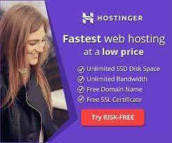 Hostinger - Best Web Hosting for WordPress Blogs