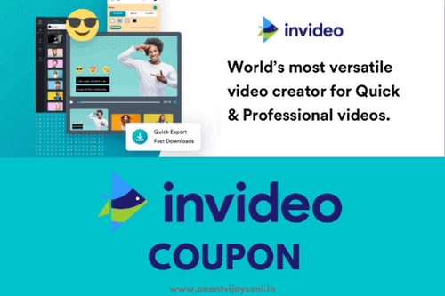 Invideo Coupon and Promo Code   Free Video Editor