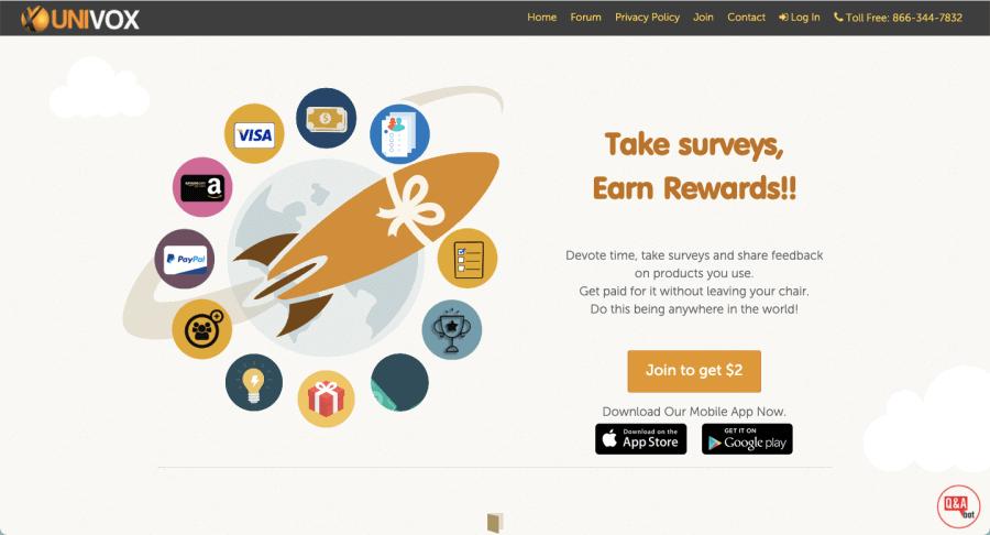 Univox Community   Best Survey Website Worldwide