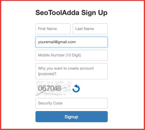 Seo-tool-adda-signup-form